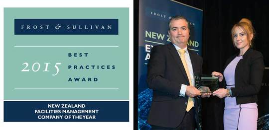 ISS named 'New Zealand Facilities Management Company of the Year' for second year in a row