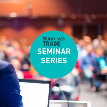 Bunnings Trade Speaker Series
