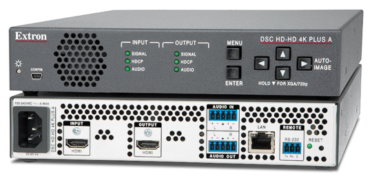 Extron Introduces the AV Industry's First 4K/60 @ 4:4:4 HDMI Scalers